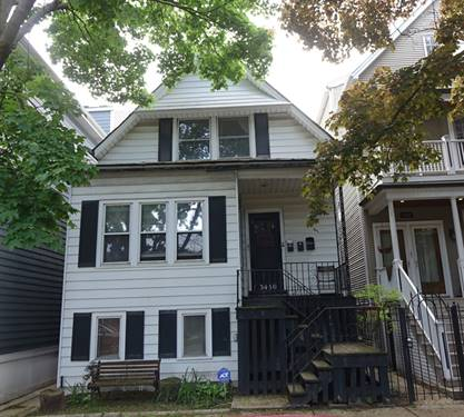 3450 N Leavitt, Chicago, IL 60618 Roscoe Village