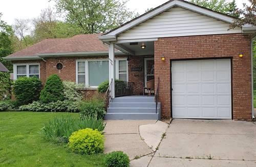 18662 Ashland, Homewood, IL 60430