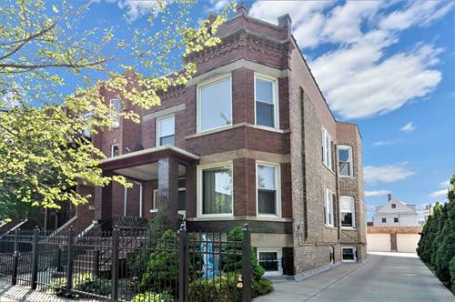 2936 N Ridgeway, Chicago, IL 60618 Avondale