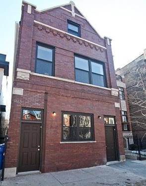 1463 W Huron Unit 1F, Chicago, IL 60622 Noble Square