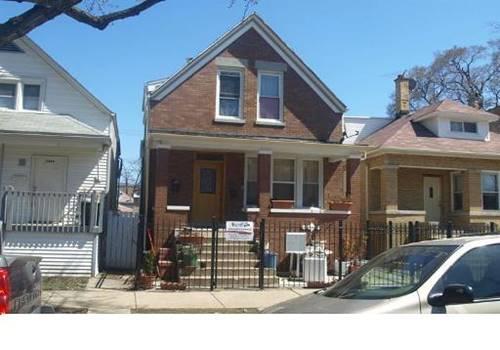 2507 N Tripp, Chicago, IL 60639 Belmont Gardens