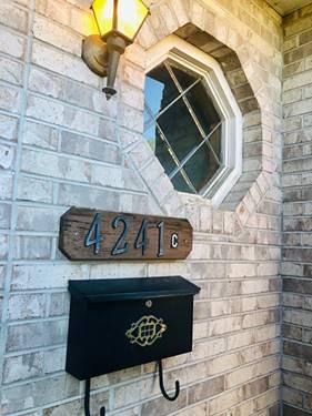4241 Lindenwood Unit C, Matteson, IL 60443