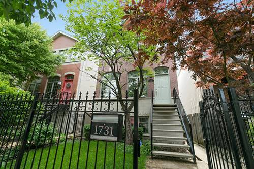 1731 N Rockwell, Chicago, IL 60647 Logan Square