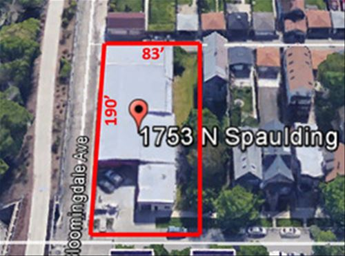 1753 N Spaulding, Chicago, IL 60647 Logan Square