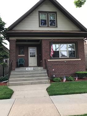 6022 W Dakin, Chicago, IL 60634 Portage Park