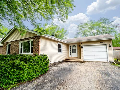 5502 W Lake Shore, Oakwood Hills, IL 60013