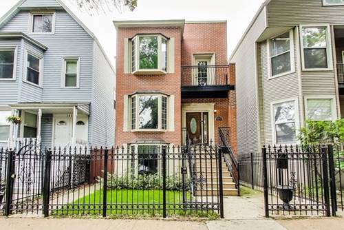 1847 W Wellington, Chicago, IL 60657 Hamlin Park