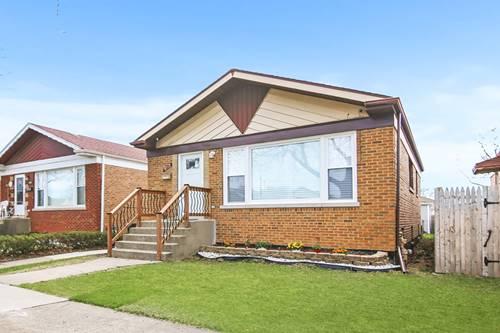 5112 S Natchez, Chicago, IL 60638 Garfield Ridge