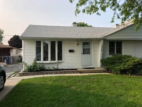 4058 W 89th, Hometown, IL 60456