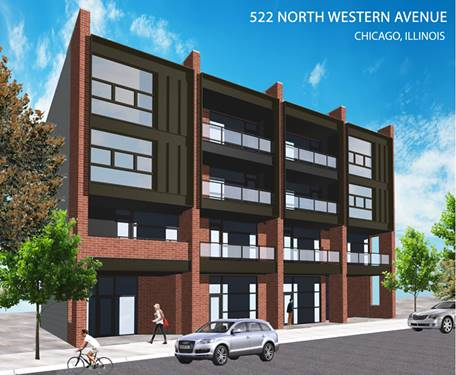 522 N Western Unit 202, Chicago, IL 60612 Smith Park