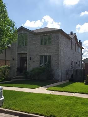 5814 S Nagle, Chicago, IL 60638 Garfield Ridge