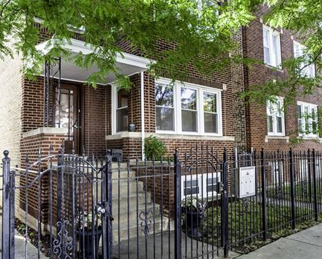 2837 N Central Park Unit 1, Chicago, IL 60647 Avondale