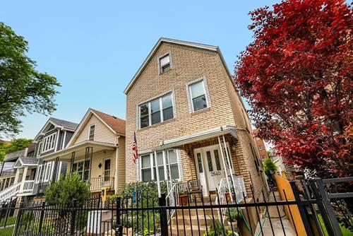 2640 W Homer, Chicago, IL 60647 Logan Square