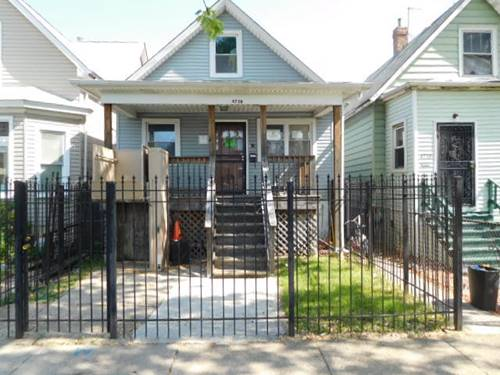 4738 W Race, Chicago, IL 60644 West Garfield Park