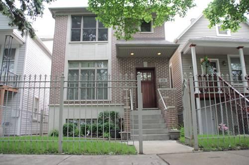 4331 N Lawndale, Chicago, IL 60618 Irving Park