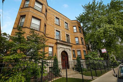 3831 N Wilton Unit 3S, Chicago, IL 60613 Lakeview