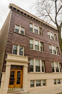 1343 W Grace Unit 3, Chicago, IL 60613 Lakeview