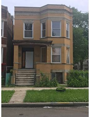 5759 S Bishop, Chicago, IL 60636 Englewood