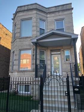 2432 N California, Chicago, IL 60647 Logan Square