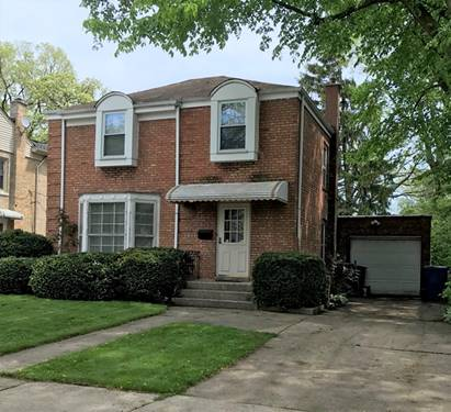 4111 N Plainfield, Chicago, IL 60634 Irving Woods