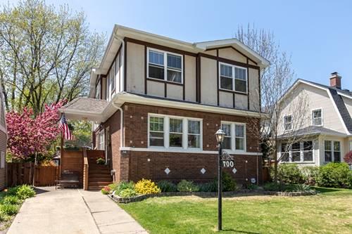 700 S Greenwood, Park Ridge, IL 60068