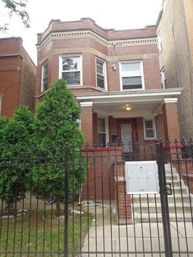 4355 W Mclean, Chicago, IL 60639 Hermosa