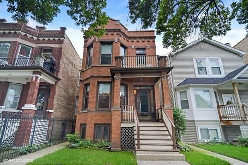 3932 N Bernard, Chicago, IL 60618 Irving Park