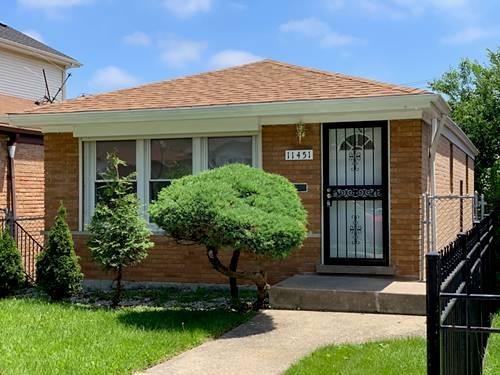 11451 S Vincennes, Chicago, IL 60643 Morgan Park