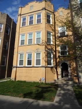 6207 N Talman, Chicago, IL 60659 West Ridge
