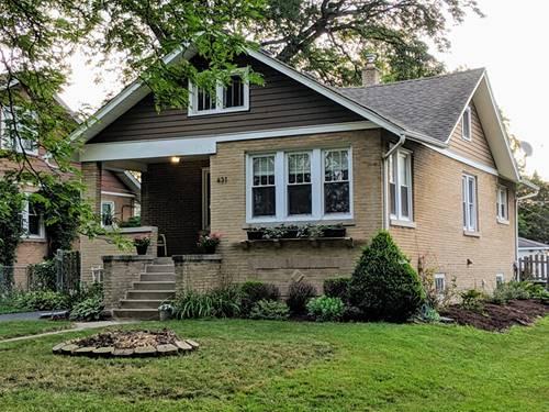 431 S Cornell, Villa Park, IL 60181