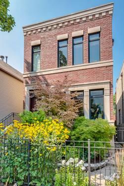 1748 W Wellington, Chicago, IL 60657 Lakeview
