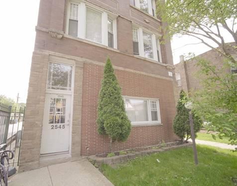 2545 N Springfield Unit 2, Chicago, IL 60647 Logan Square