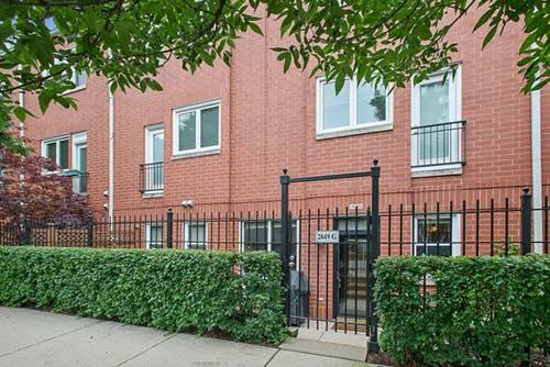 2849 N Wolcott Unit G, Chicago, IL 60657 Hamlin Park