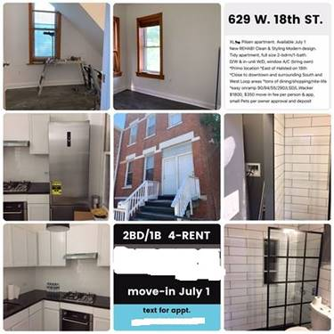 629 W 18th Unit 1, Chicago, IL 60616 East Pilsen