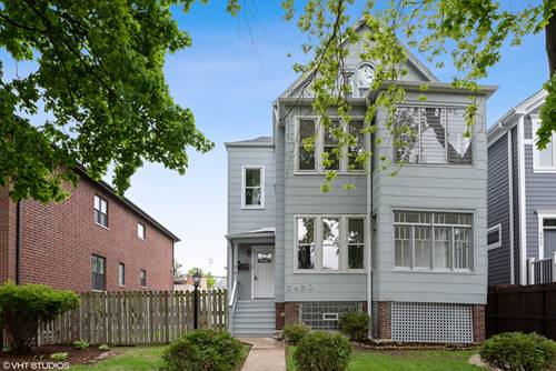5453 W Leland, Chicago, IL 60630 Jefferson Park