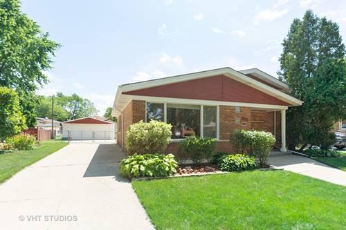 10725 Leclaire, Oak Lawn, IL 60453