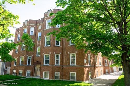 2916 W Rosemont Unit 2, Chicago, IL 60659 West Ridge