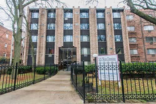 525 W Deming Unit 329, Chicago, IL 60614 Lincoln Park