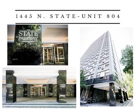 1445 N State Unit 804, Chicago, IL 60610 Gold Coast