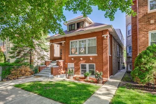 3638 W Cornelia, Chicago, IL 60618 Avondale