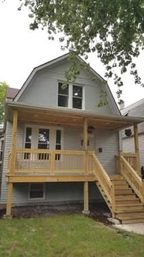 3718 N Bernard, Chicago, IL 60618 Irving Park