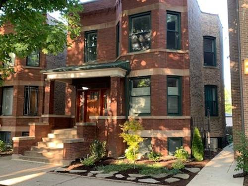 3627 N Bell, Chicago, IL 60618 Northcenter