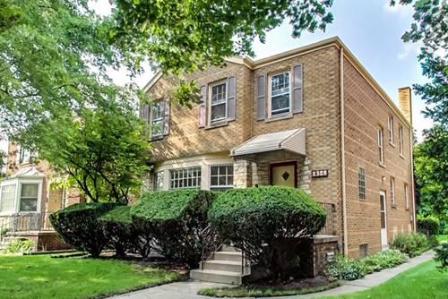 2328 W Pratt, Chicago, IL 60645 West Ridge