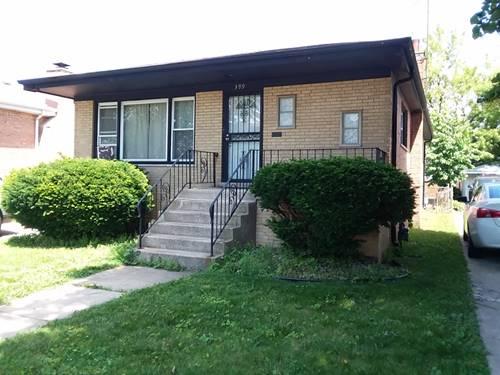 399 Yates, Calumet City, IL 60409