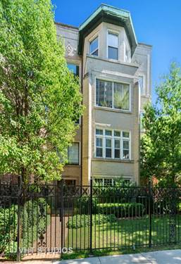 545 W Stratford Unit 1, Chicago, IL 60657 Lakeview