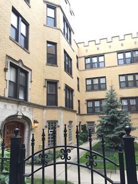 6436 N Leavitt Unit 1W, Chicago, IL 60645 West Ridge