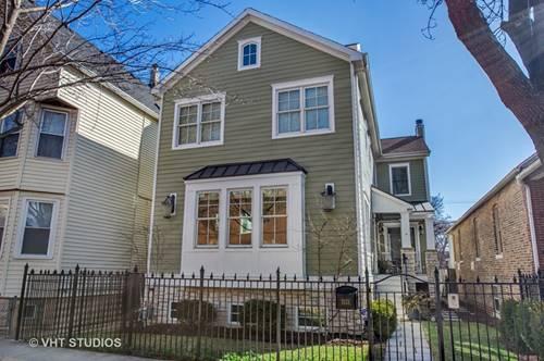 3133 N Hoyne, Chicago, IL 60618 Hamlin Park