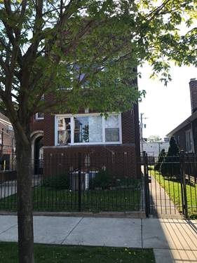 5842 S Troy, Chicago, IL 60629 Gage Park