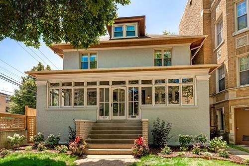 1419 W Birchwood, Chicago, IL 60626 Rogers Park