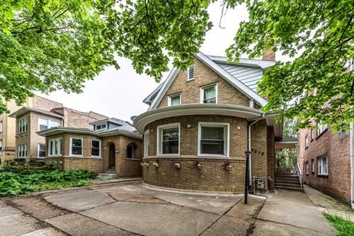 6213 N Fairfield, Chicago, IL 60659 West Ridge